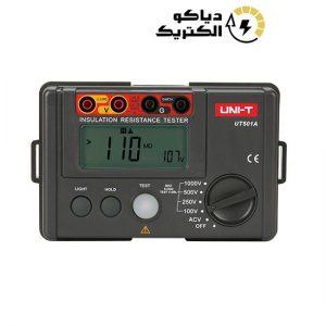 میگر یا تست عایق دیجیتال یونیتی UNI-T UT501A