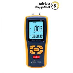 مانومتر یا فشار سنج دیجیتالی تفاضلی بنتک مدل BENETECH GM510