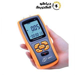 مانومتر یا فشارسنج دیجیتالی تفاضلی بنتک مدل BENETECH GM511