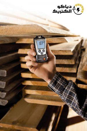 رطوبت سنج چوب و کاغذ و مصالح ساختمانی تستو TESTO 606-2