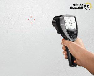 ترمومتر لیزری و رطوبت سنج لیزری تستو Testo 835-H1